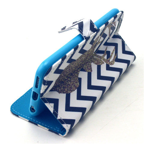 The Waves Deer Stand Leather Case for iPhone 6 - CELLRIZON