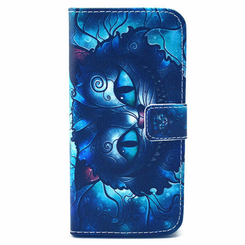 Cat synthetic Leather Stand Case for iPhone 6 Plus - CELLRIZON