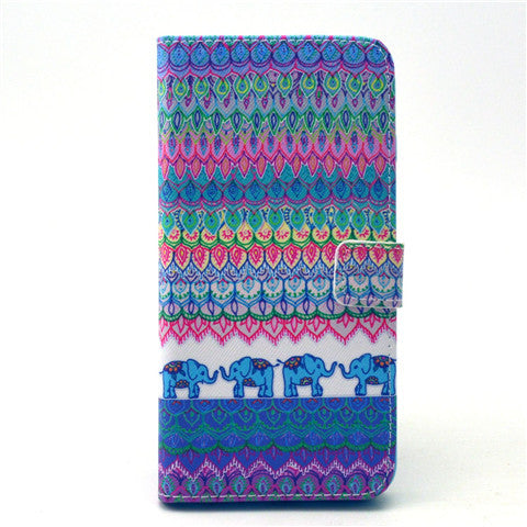 The elephant tribe Leather Case for iPhone 6 Plus - CELLRIZON