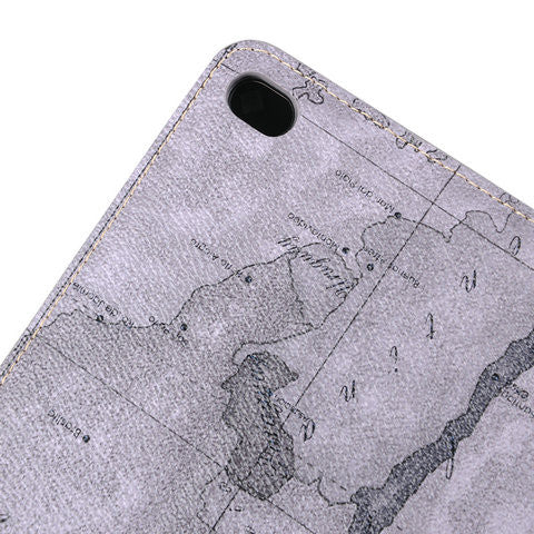 Map pattern Case For ipad Mini4 - CELLRIZON