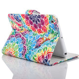 Psychedelic summer PU Wallet Case for IPAD mini - CELLRIZON