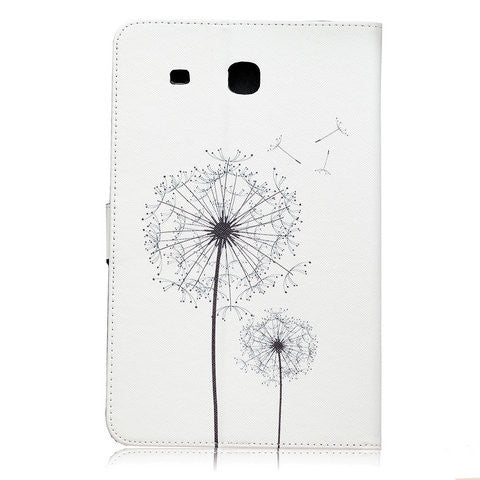 Dandelion Tablet Case for Samsung Galaxy Tab E  9.6 T560 - CELLRIZON