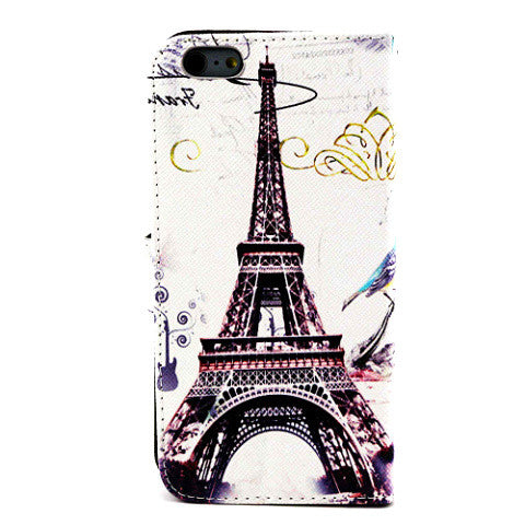 Eiffel Tower Wallet Case for iPhone 6 Plus - CELLRIZON