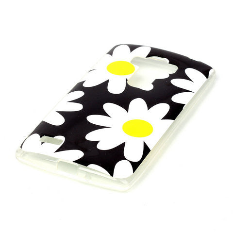 Big Daisy TPU Case Cover for LG G4 - CELLRIZON
