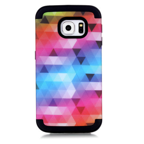 Lovely Color PC Case For Samsung Galaxy S6 edge - F Style - CELLRIZON