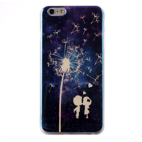 Couple and Dandelion Phone Back Case for iPhone 6 Plus - CELLRIZON