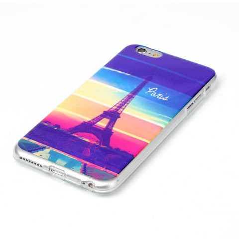 Rainbow Paris Tower Blu-Ray Phone Back Case For iPhone 6 - CELLRIZON