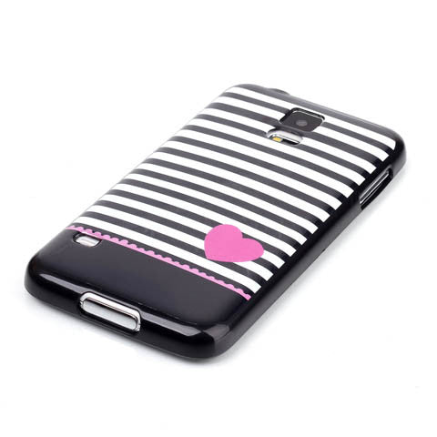 PINK LOVE mark case for Samsung Galaxy S5/S6/S6 edge - CELLRIZON  - 4