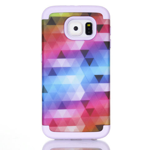 Color PC Case For Samsung Galaxy S6 - F Style - CELLRIZON