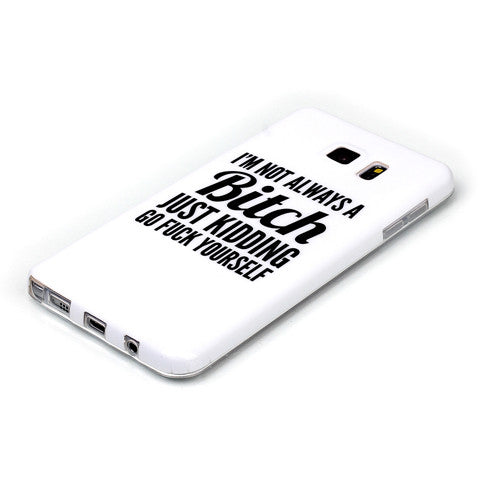Samsung Galaxy note 5 Bitch letter case - CELLRIZON