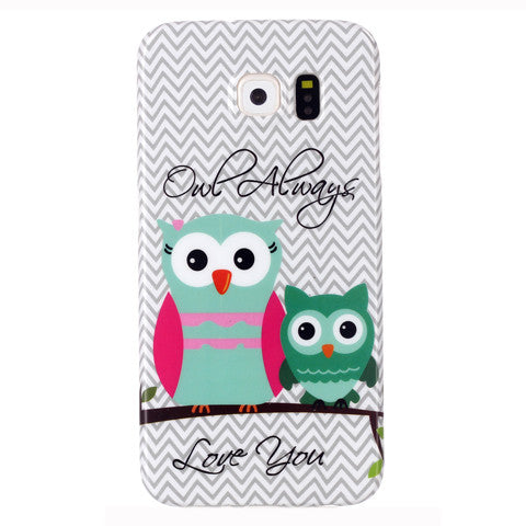 Samsung Galaxy S6 2 Owls case - CELLRIZON