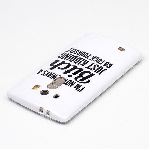 Bitch Letter Back Case for LG G4 - CELLRIZON