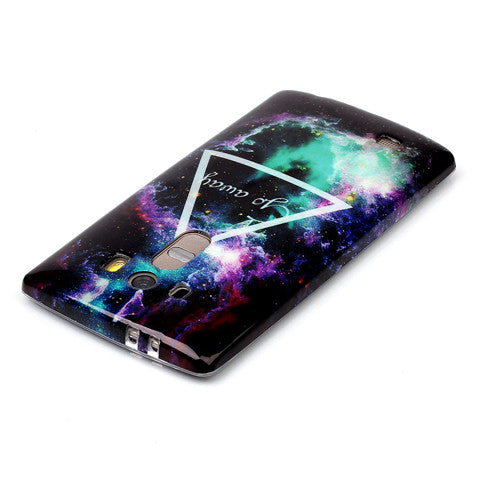 Triangle Star Back case for LG G4 - CELLRIZON