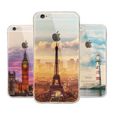 Thin Soft Silicone Back Cover Case For Apple iPhone - CELLRIZON