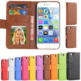 PU Leather Wallet Case for iPhone 6/6S - CELLRIZON