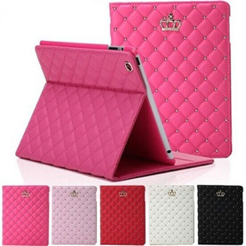 Crown synthetic Leather Case for iPad Air - CELLRIZON