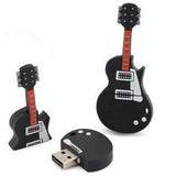Wooden Guitar USB Flash Drive 2gb/4gb/8gb/16gb/32gb/64gb - CELLRIZON  - 1