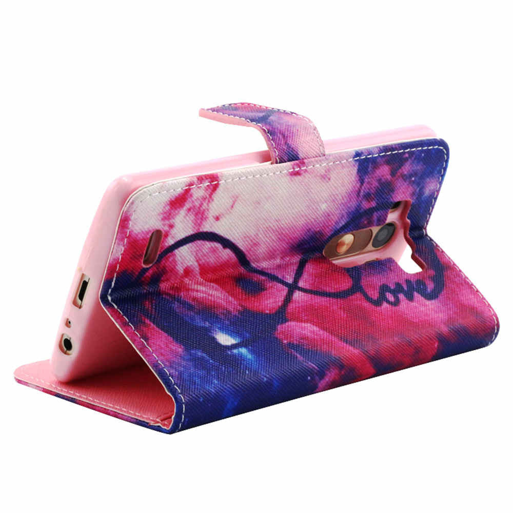 Colorful Stand synthetic Leather Case for LG G3 - CELLRIZON
