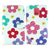 Flower  Imitation Leather Case for Samsung Note 4 - CELLRIZON