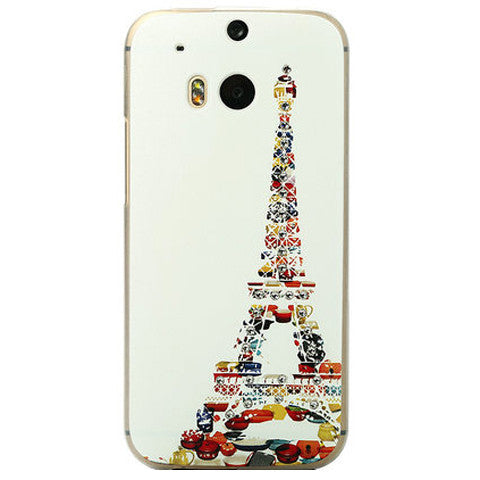 Eiffel Tower Bling Case for HTC One M8 - CELLRIZON