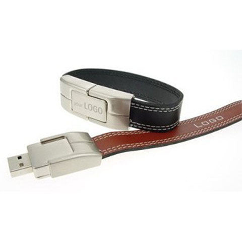 Leather Bracelet USB Flash Drive 2/4/8/16/32/64gb - CELLRIZON  - 7