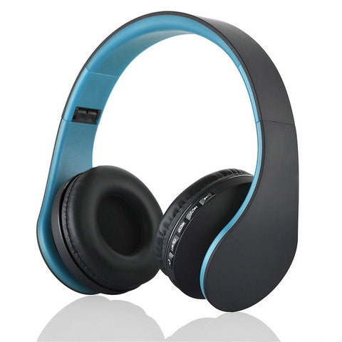 Clearance 4 in 1 Bluetooth Stereo Headphones w/Mic