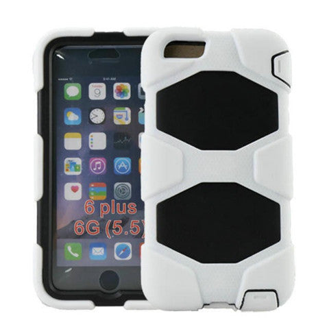 Hybrid Hard Stand Case for iPhone 6 Plus - CELLRIZON  - 4