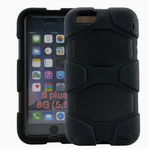 "3 In 1 Hybrid Case for iPhone 6 4.7"" Back Cover - CELLRIZON"