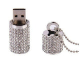Diamond Pendant USB Flash Drive 2/4/8/16/32/64gb - CELLRIZON