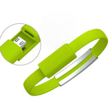 Micro USB Data Sync Charging Bracelet 25cm Android cable - CELLRIZON