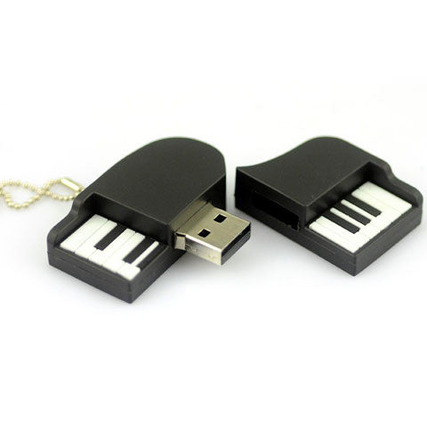 piano model usb flash drive 2gb/4gb/8gb/16gb/32gb/64gb - CELLRIZON