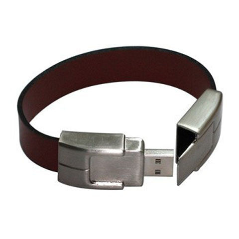 Leather Bracelet USB Flash Drive 2/4/8/16/32/64gb - CELLRIZON  - 4
