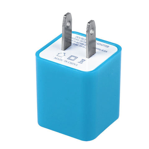 2A&1A US Plug Dual Ports USB Wall Charger - CELLRIZON