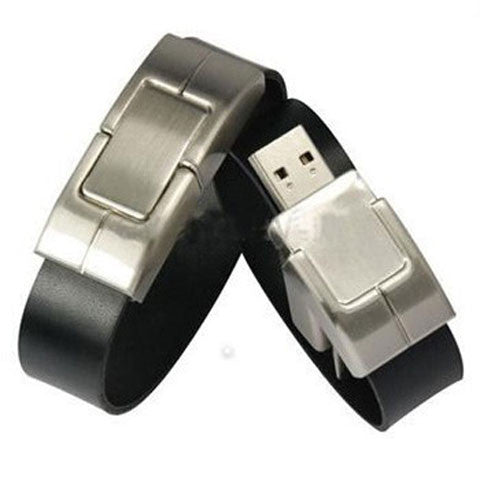 Leather Bracelet USB Flash Drive 2/4/8/16/32/64gb - CELLRIZON  - 1