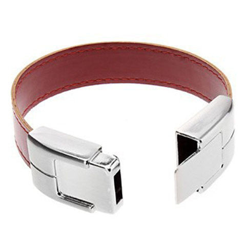Leather Bracelet USB Flash Drive 2/4/8/16/32/64gb - CELLRIZON  - 5