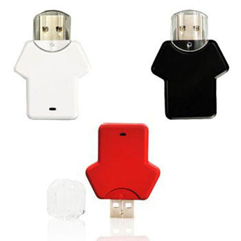 T-Shirt USB Flash Drive 2gb/4gb/8gb/16gb - CELLRIZON
