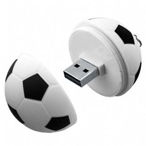 Plastic Football USB Flash Drive 2GB/4GB/8GB/16GB/32GB/64GB - CELLRIZON  - 1