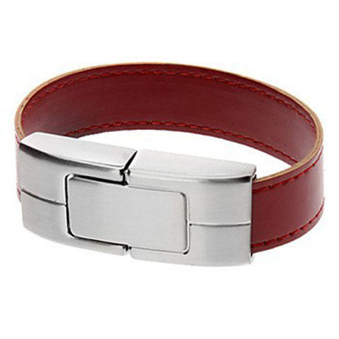 Leather Bracelet USB Flash Drive 2/4/8/16/32/64gb - CELLRIZON  - 3
