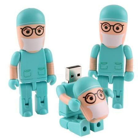 Doctor model USB 2.0 Flash Drive 2/4/8/16/32/64gb - CELLRIZON