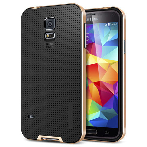 TPU PC Hybrid Case for Samsung S5 - CELLRIZON