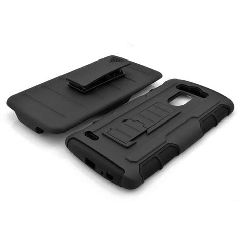 Armor Back Cover with Belt Clip for LG G3 - CELLRIZON