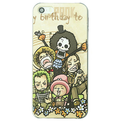 Cartoon PC Embossed Case for iPhone 5S  Back Cover - CELLRIZON