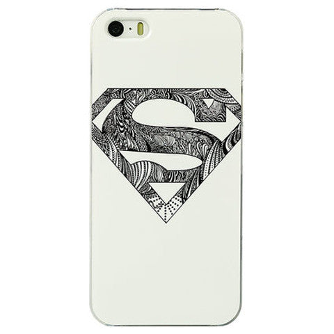 Super Man Hard PC Case for iPhone 5 - CELLRIZON