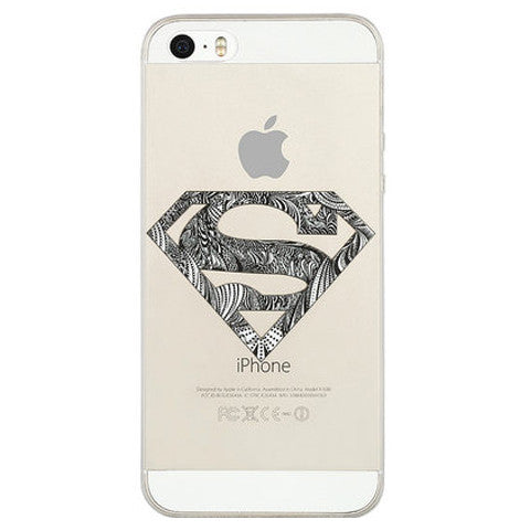 Transparent Slim TPU Case for iPhone 5 - CELLRIZON