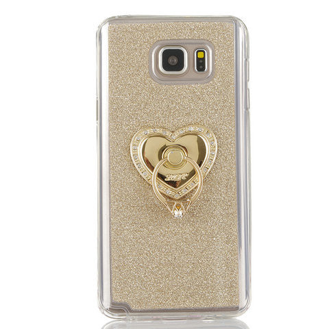 TPU Frosted ring bracket Case For Samsung Galaxy Note5 - CELLRIZON