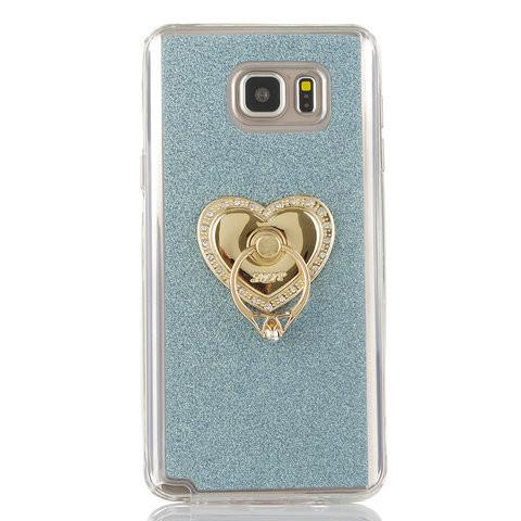 Color Dot Hollow PU Stand Case For Samsung S6/S6 Edge - CELLRIZON