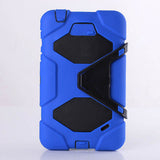 Silicone with PC Back Cover For Samsung GALAXY Tab 4 T230 - CELLRIZON