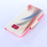 Feather wallet standard case for Samsung Galaxy S6/S6 edge - CELLRIZON