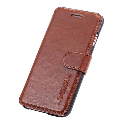 Leather  Card Slot  Stand Case for Iphone 6 4.7 Inch/6 Plus 5.5 Inch - CELLRIZON