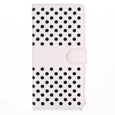 Empty thread Polka Dot Wallet Case&back case 2 in 1 for iPhone 6 Plus 5.5 inch - CELLRIZON